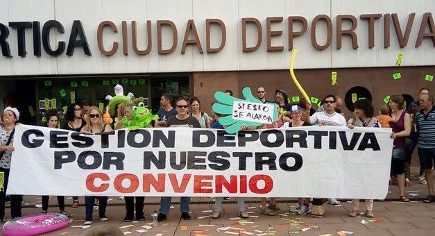 UGT, ELA y LAB convocan cuatro días de huelga en el sector de Gestión Deportiva para desbloquear las negociaciones del convenio colectivo