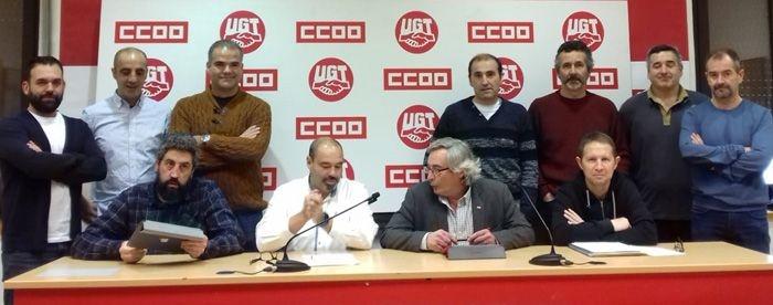 """UGT y CCOO defienden el convenio de eficacia limitada firmado en TCC y acusan al resto de sindicatos del comité de ser """"parásitos"""" de su trabajo"""