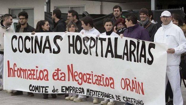 El Juzgado de lo Social declara improcedentes los despidos de Mediterránea de Catering y condena al Servicio Navarro de Salud a pagar las indemnizaciones