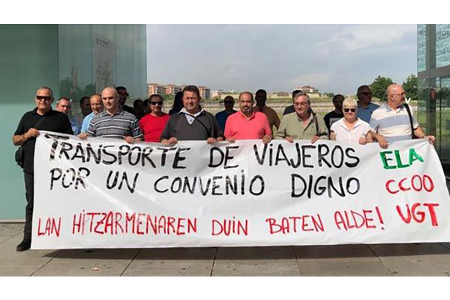 """Los sindicatos del sector critican el """"bloqueo"""" de la negociación del Convenio de Transporte de Viajeros"""